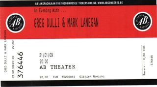An Evening with Dulli & Lanegan